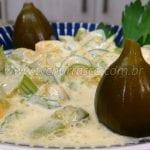 Como Fazer Salada de Manga com Salsão e Figo