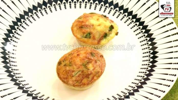 Mini Omelete de Forno