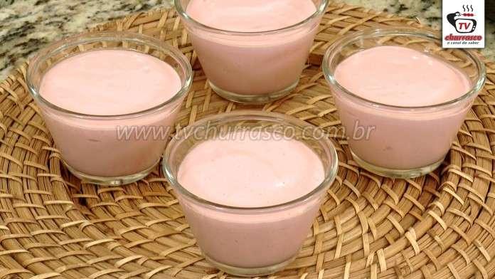 Iogurte Caseiro (Danoninho Caseiro)