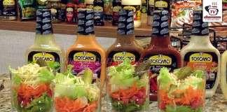 Salada Simples no Copo