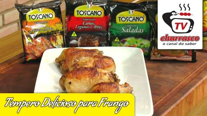 Tempero Delicioso para Frango