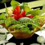 Salada de Rúcula com Parmesão e Figo
