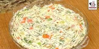 Salada de Maionese para Churrasco