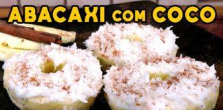 Como Fazer Abacaxi com Coco