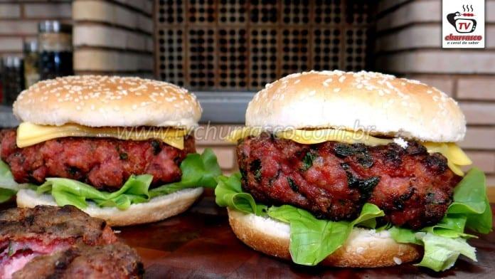 Como Fazer Hambúrguer de Linguiça Toscana