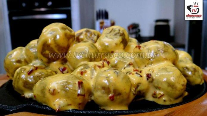 Como Fazer Batatas Assadas com Maionese Caseira Temperada