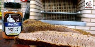 Maça do Peito com Dry Rub - Brisket com Dry Rub