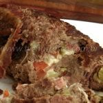 Como Fazer Rocambole de Carne Moída na Churrasqueira