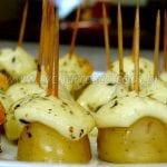 Como Fazer Batatas Aperitivos com Provolone