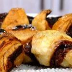 Como Fazer Massa Folhada com Nutella (Mini Croissant)