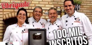 Receita de Agradecimento – 100 Mil Inscritos Canal Tv Churrasco