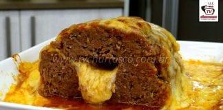 Como Fazer Bolo de Carne Moída Recheado