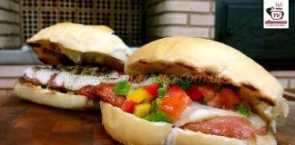Como Fazer Choripan Argentino - Pão com Linguiça e Vinagrete
