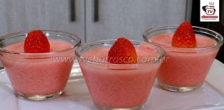 Como Fazer Gelatina Cremosa de Morango (Sobremesa de Gelatina)