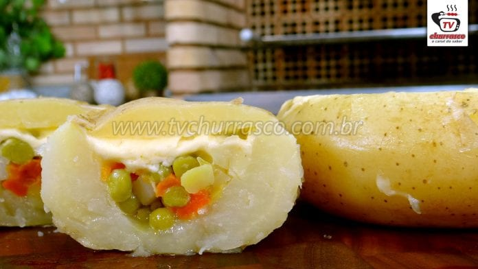 Como Fazer Batata Recheada Vegetariana