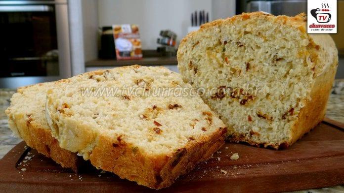 Como Fazer Pão Caseiro de Tomate Seco