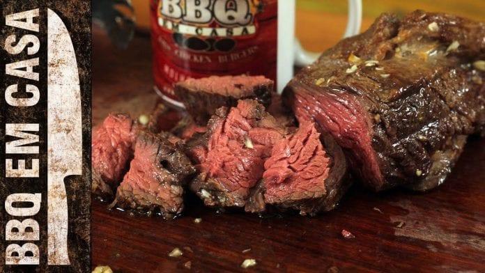 Receita de Fraldinha ao Alho - BBQ em Casa