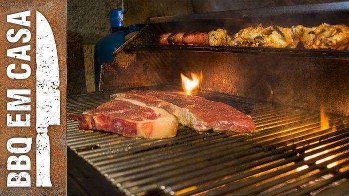 Como Preparar um Churrasco Econômico - 50 Reais - BBQ em Casa