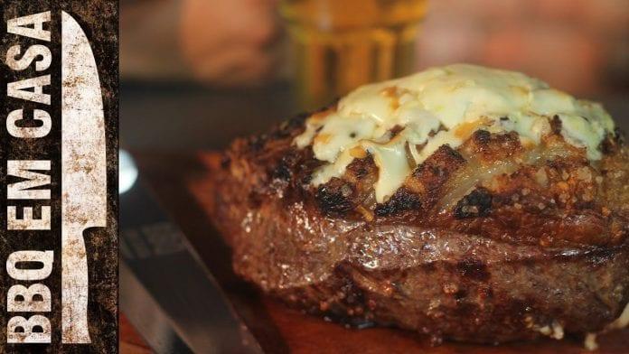 Receita de Picanha Recheada com 4 Queijos - BBQ em Casa