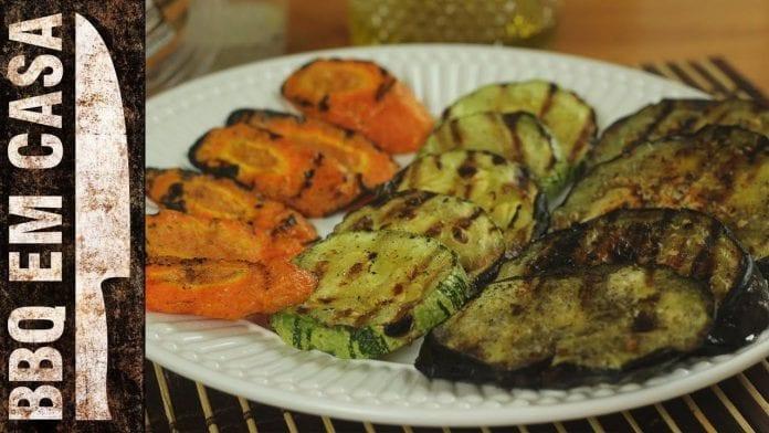 Receita de Legumes Grelhados - BBQ em Casa