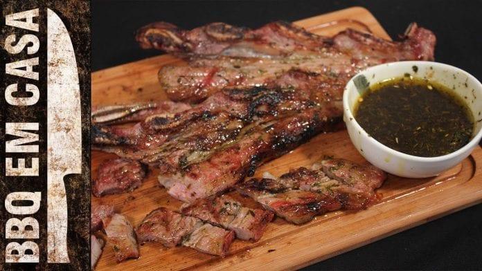 Receita de Bife de Tira Angus Ventura Prime (Assado de Tira-Beef Short Ribs) - BBQ em Casa