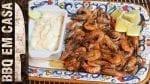Receita de Porção de Camarão com Molho Dipping Refrescante - BBQ em Casa