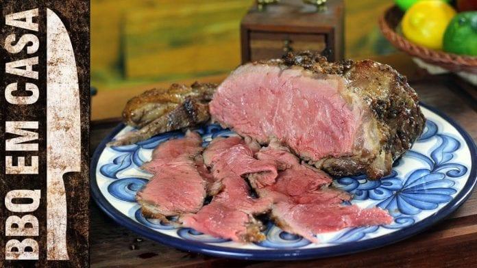 Receita de Contra Filet Assado - BBQ em Casa