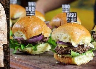 Receita de Mini Hambúrguer com Maionese Temperada - BBQ em Casa