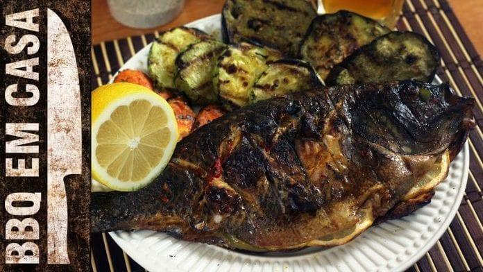 Receita de Páscoa - Tilápia Grelhada e Assada - BBQ em Casa