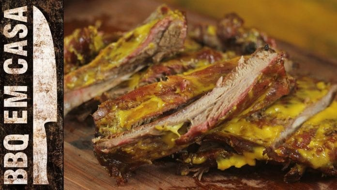 Receita de Costelinha com Honey Mustard (Ribs) - BBQ em Casa
