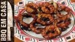 Receita de Bacon Onion Rings - BBQ em Casa