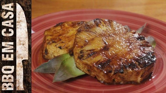 Receita de Abacaxi Grelhado - BBQ em Casa
