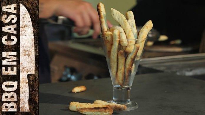 Receita de Palitinhos de Queijo e Orégano - BBQ em Casa