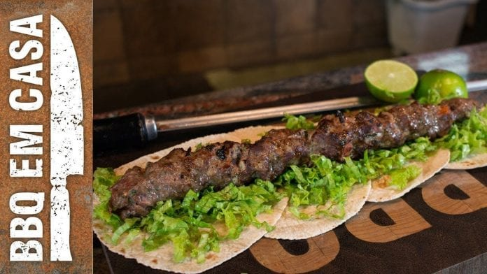 Receita de Kebab - BBQ em Casa