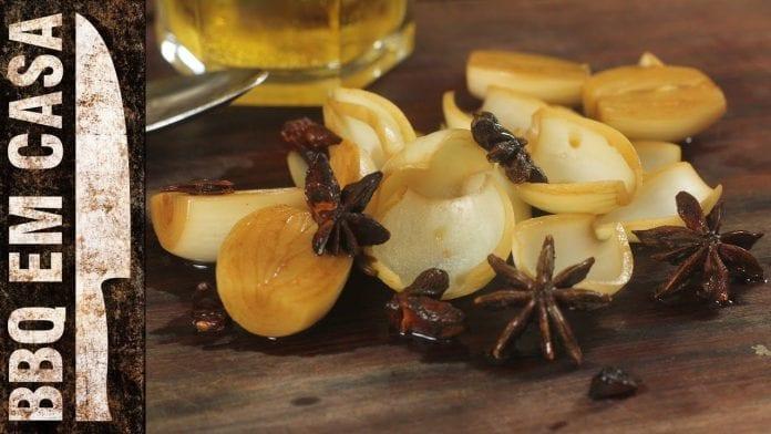 Receita de Cebola em Conserva (Sweet&Salt Pickled Onion) - BBQ em Casa