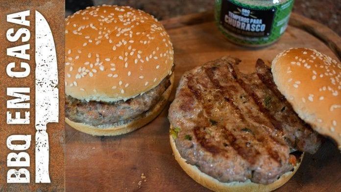 Receita de Burger de Cordeiro - BBQ em Casa