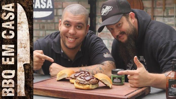 Bob Wayne Stuffed Burger (Atração Internacional) - BBQ em Casa