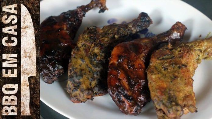 Receita de Sobrecoxa Defumada (Smoked Chicken Leg) - BBQ em Casa