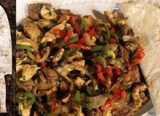 Receita de Fajitas Mista e Burrito (Vídeo 3) - BBQ em Casa