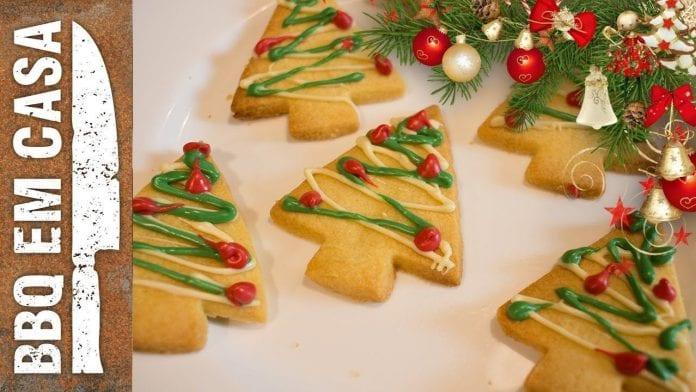 Receita de Biscoitinhos de Natal - BBQ em Casa