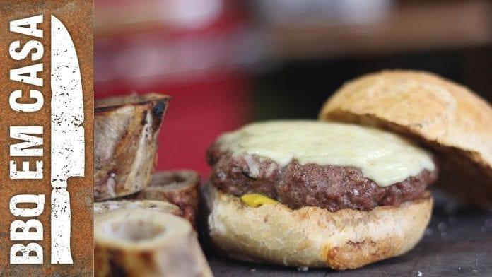 Receita de Hambúrguer de Tutano (Tutano Burger) - BBQ em Casa
