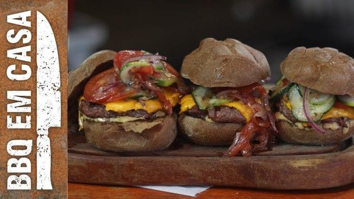 O Melhor Burger Refrescante de Todos os Tempos - Tropical Burger - BBQ em Casa