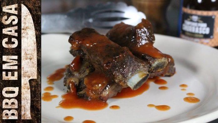 Receita de Costelinha com Barbecue de Goiaba - BBQ em Casa