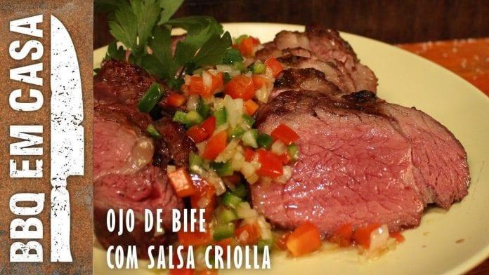 Ojo de Bife com Salsa Criolla - Feat. Johnny Destefanis - BBQ em Casa