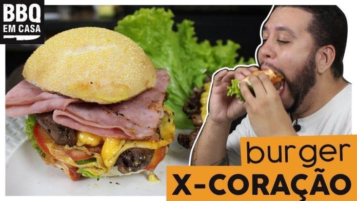 Xis de Porto Alegre - X-Coração O Lanche mais Gostoso - BBQ em Casa