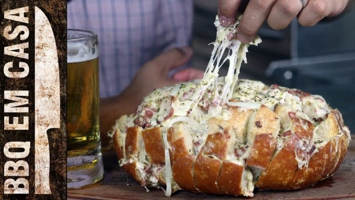 Receita de Pão Recheado - BBQ em Casa