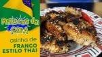 Meio da Asa Estilo Thailandes - Petiscos da Copa - BBQ em Casa