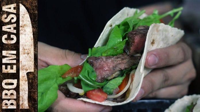 Receita de Barbecue Wrap - BBQ em Casa