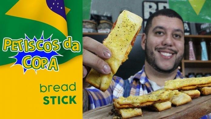 Bread Stick - Petiscos da Copa - BBQ em Casa