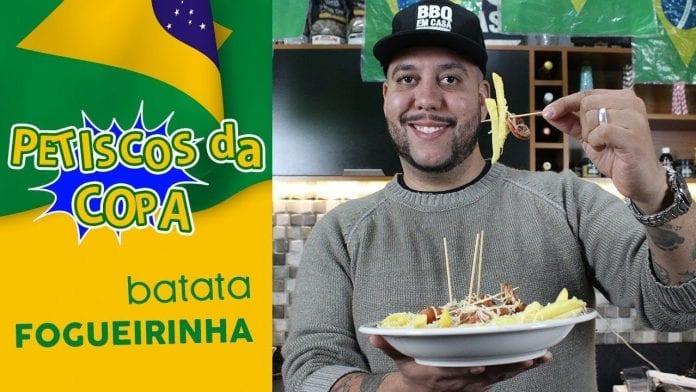 Batata Fogueirinha - Petiscos da Copa - BBQ em Casa
